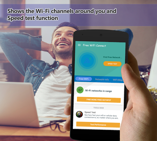 ?Free WiFi Connect - SpeedTest - Network WiFi Map