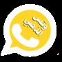 icon وتس تاج الذهبي اب بلس جديد