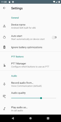 Intercom for Android