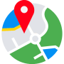 icon My Location : Maps, Directions & GPS Navigation