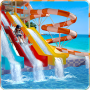 icon Water Slide Amusement Park: Uphill Rush Adventure