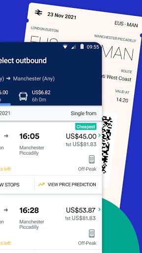 Trainline - UK Times & Tickets