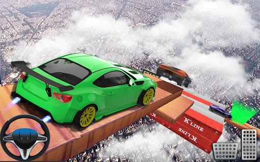 Impossible Car Stunts Racing 2018: 3D Sky Tracks