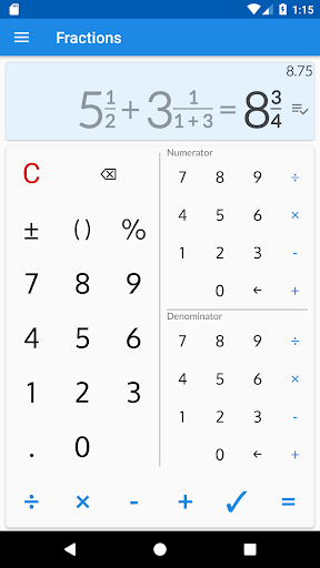 Fraction Calculator