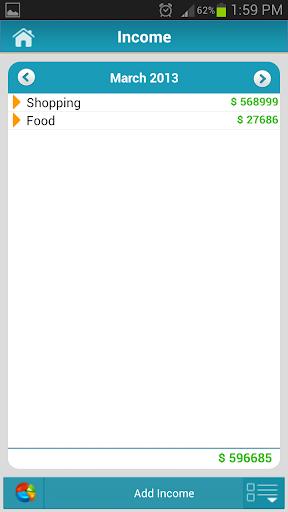 Money Tracker Free - Expense