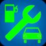 icon Fuel consumption, maintenance