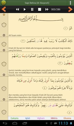 Download Al'Quran Bahasa Indonesia for Samsung Galaxy Y