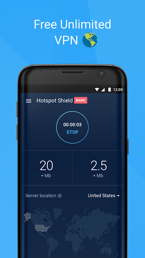 Download Free VPN -Hotspot Shield Basic for BlackBerry