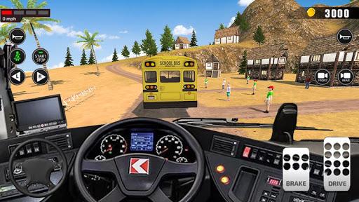 Offroad School Bus Driver 3D City Public transport