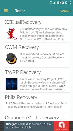 Download [ROOT] Rashr - Flash Tool for Coolpad Defiant - free