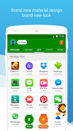 Download Xender - File Transfer & Share for Itel PowerPro P41 - free