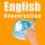 icon English conversation greeting
