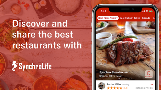 SynchroLife Japan's Foodie App