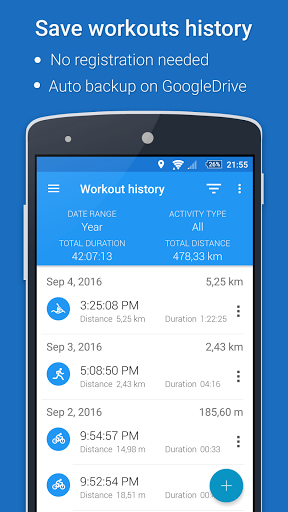 GPS Sports Tracker