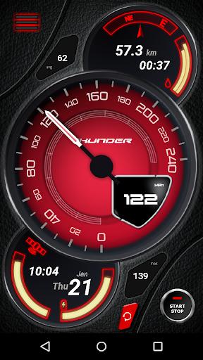 Thunder Speedometer (No Ads)
