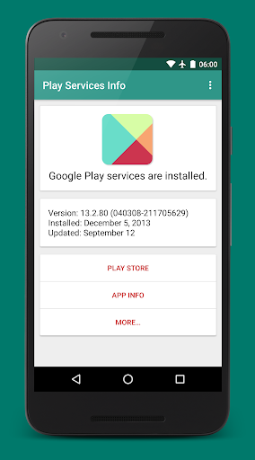 Download Play Services Info for Lephone W7 - free download