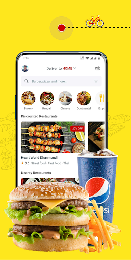 eFood - Express Food Delivery