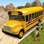 icon Offroad School Bus Driver 3D City Public transport