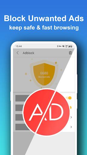 Pure Web Browser - Fast & Ad Blocker & Private