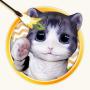 icon 3D Cat Teaser Wallpaper