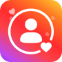 icon Real Followers For Instagram & Like for Insta tags
