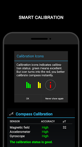 Download LED Compass for Samsung Galaxy J3 (6) - free download APK